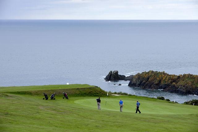 Golfbaan Aberdeenshire Schotland