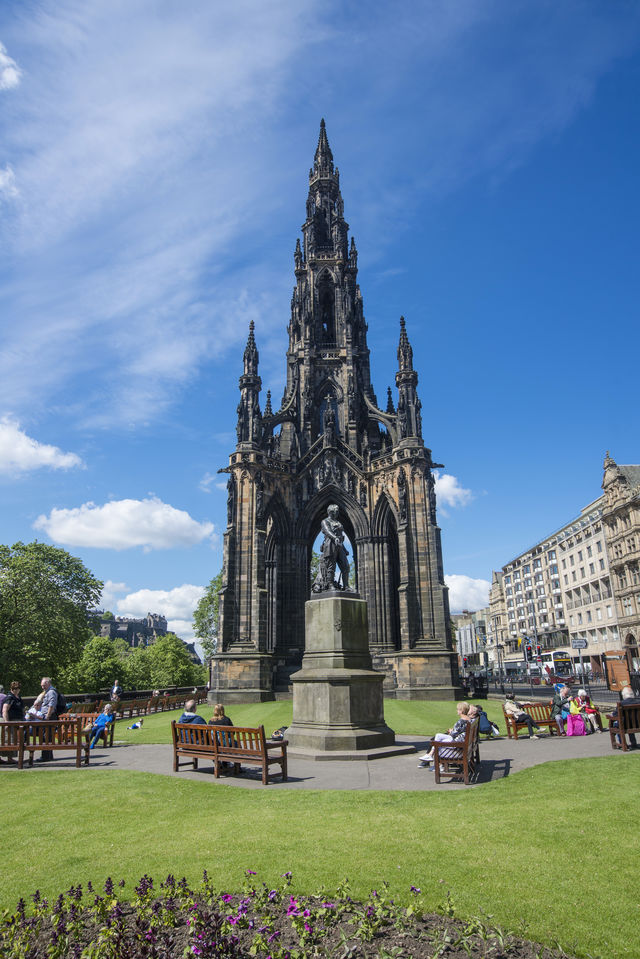 Scott monument Edenburgh Schotland