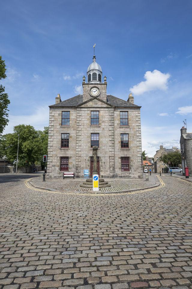 Aberdeenshire stadshuis Schotland