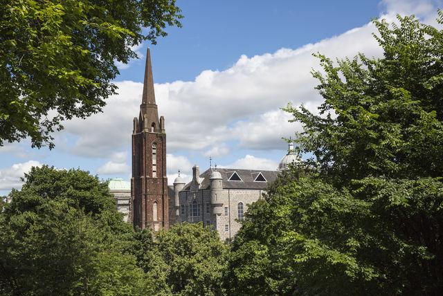 Kerk Aberdeenshire Schotland