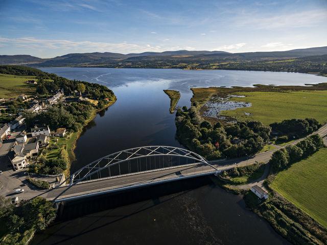 Brug Bonar Dornoch Schotland
