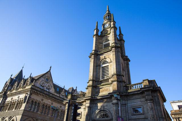 Kerk Buchanan Glasgow Schotland