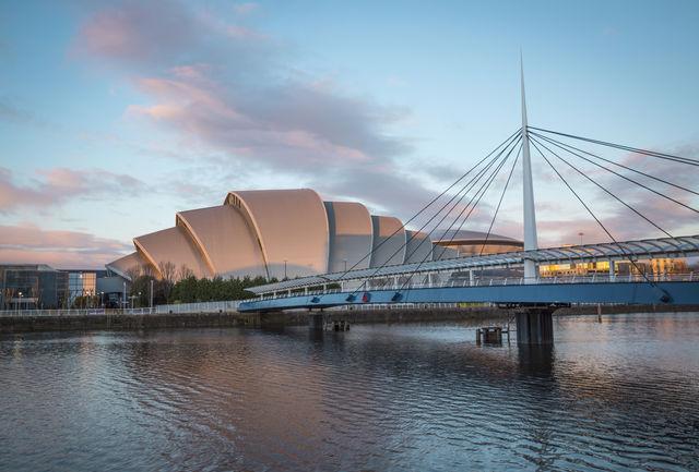 Rivier Clyde bells brug Glasgow