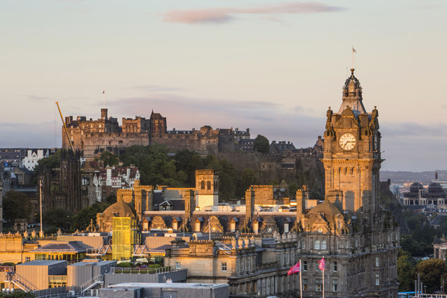 Calton Hill Edinburgh Schotland