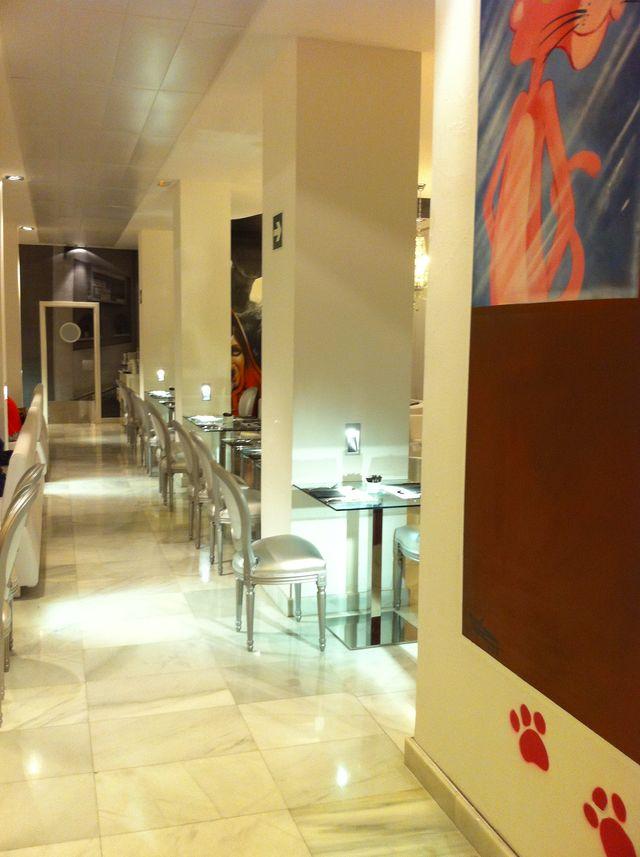Dormirdcine Madrid restaurant