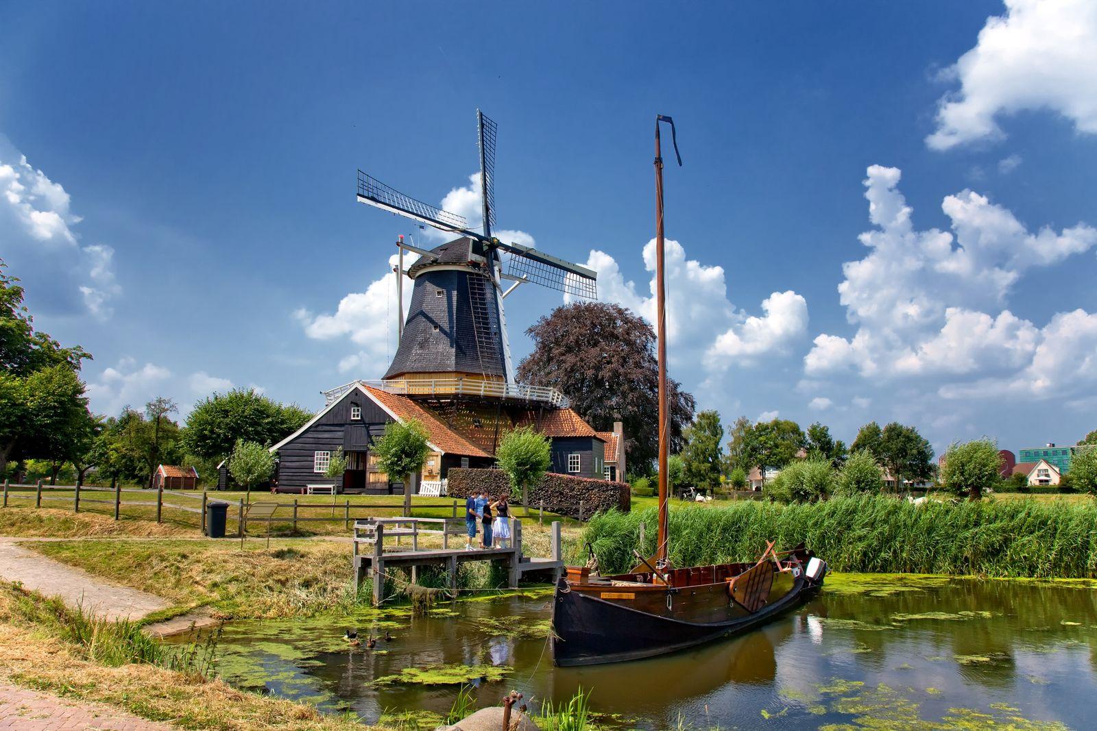 Pelmolen Overijssel Nederland