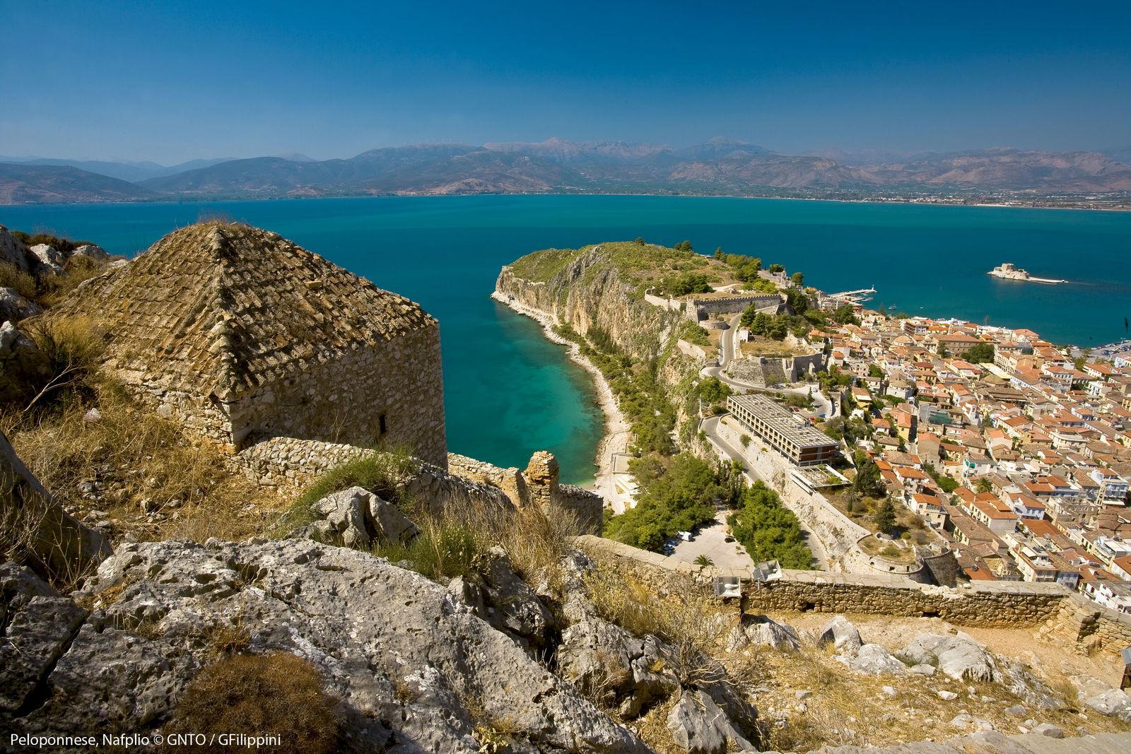 Nafplio Peloponnesos Griekenland